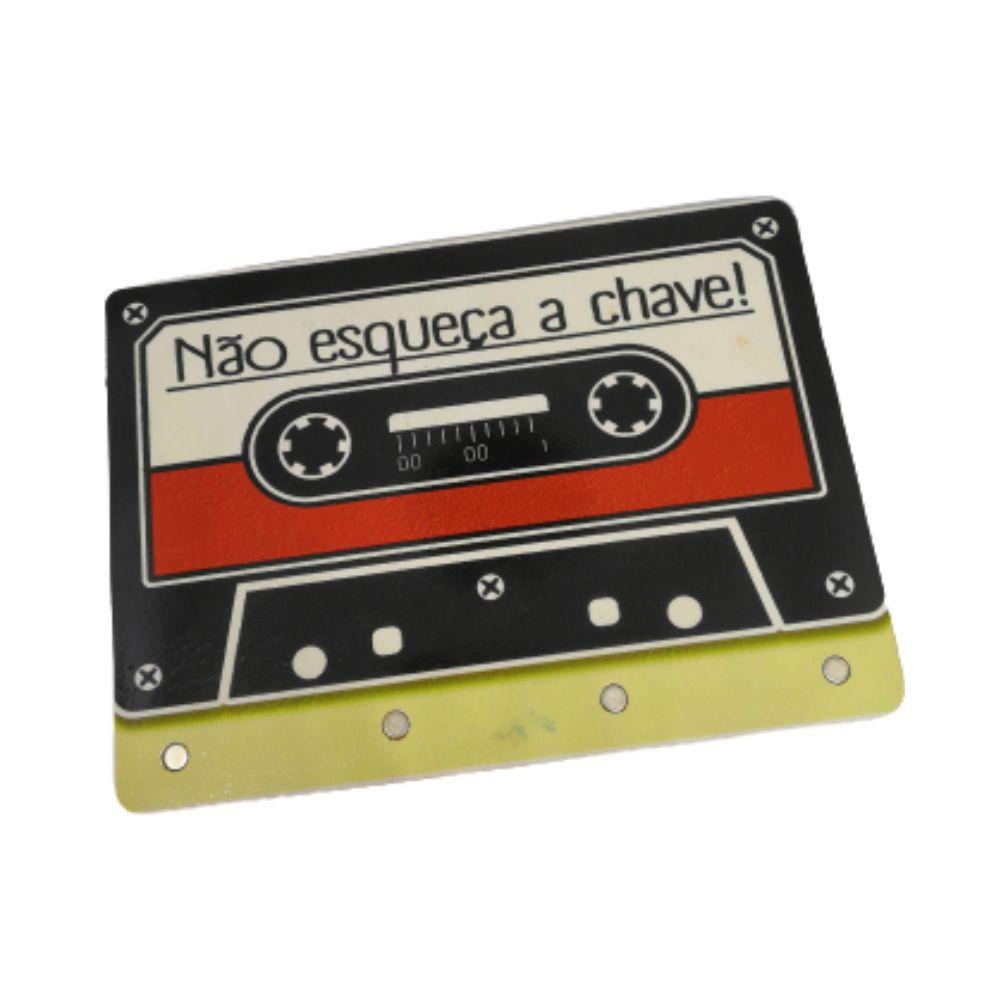 Porta Chave Fita Cassete - 20X15