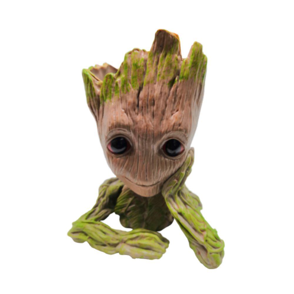 Figure Porta Trecos Baby Groot - Vingadores Marvel - 13CM