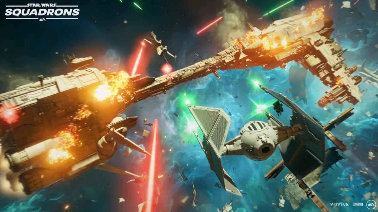 Pré Venda Jogo Star Wars Squadrons - PS4