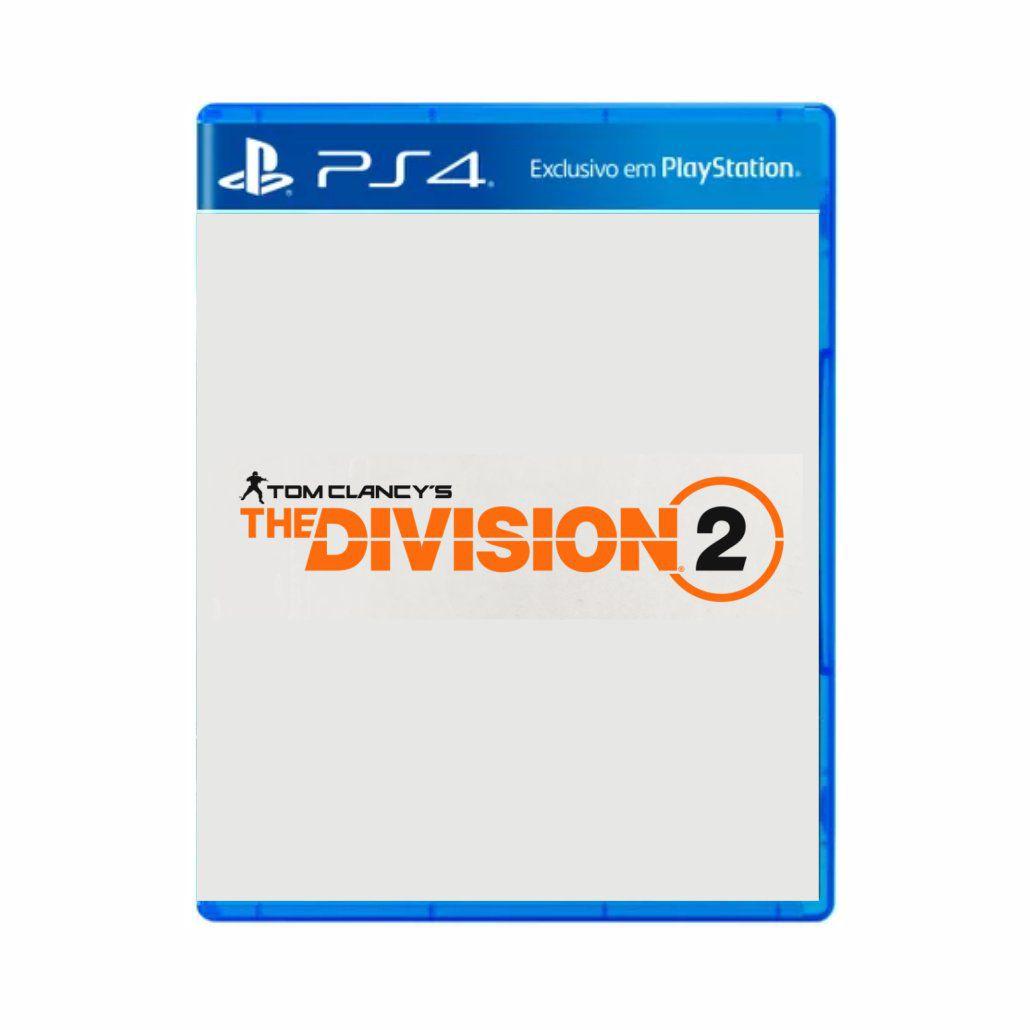 Pré Venda The Division 2 - PS4