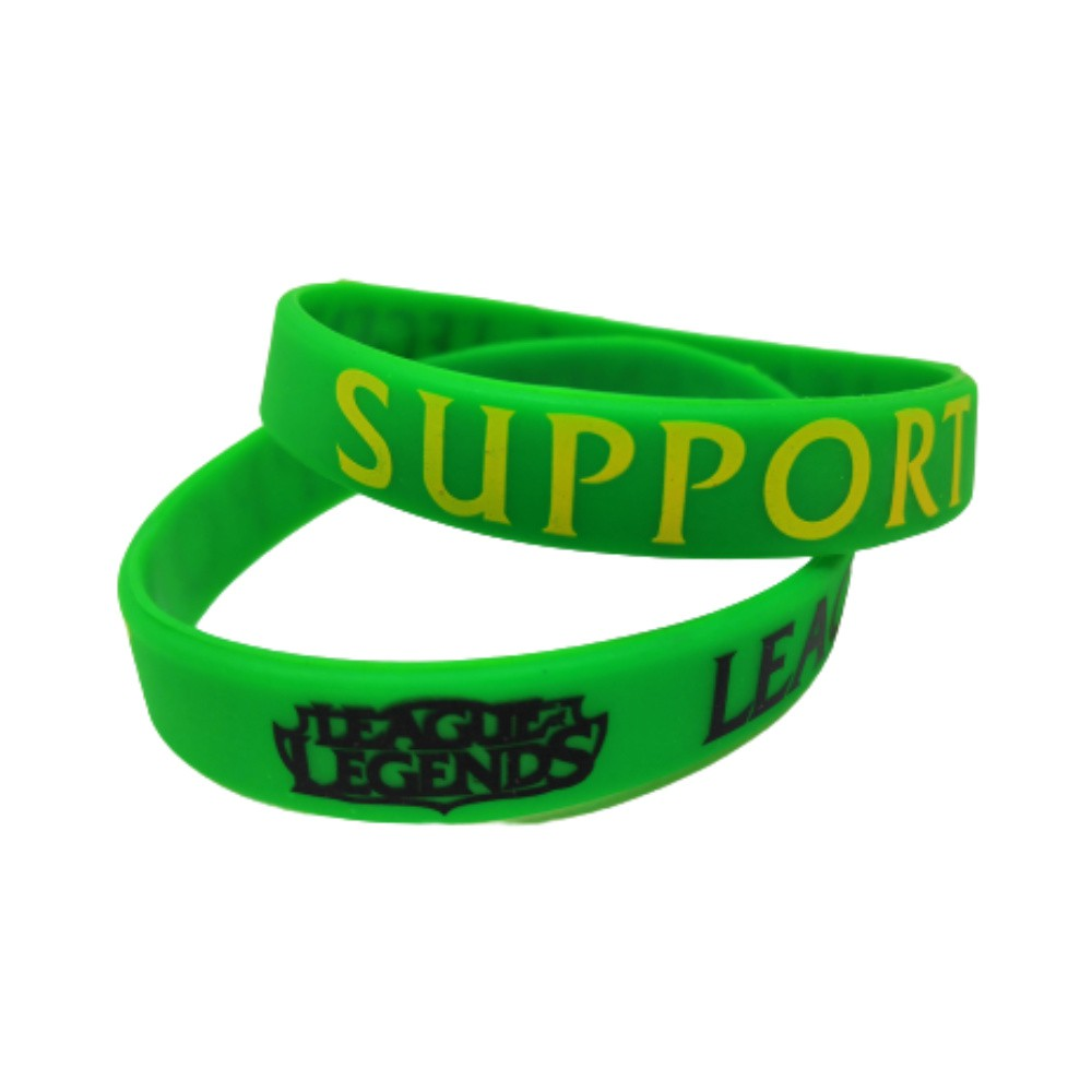 Pulseira Support - League Of Legends - Silicone