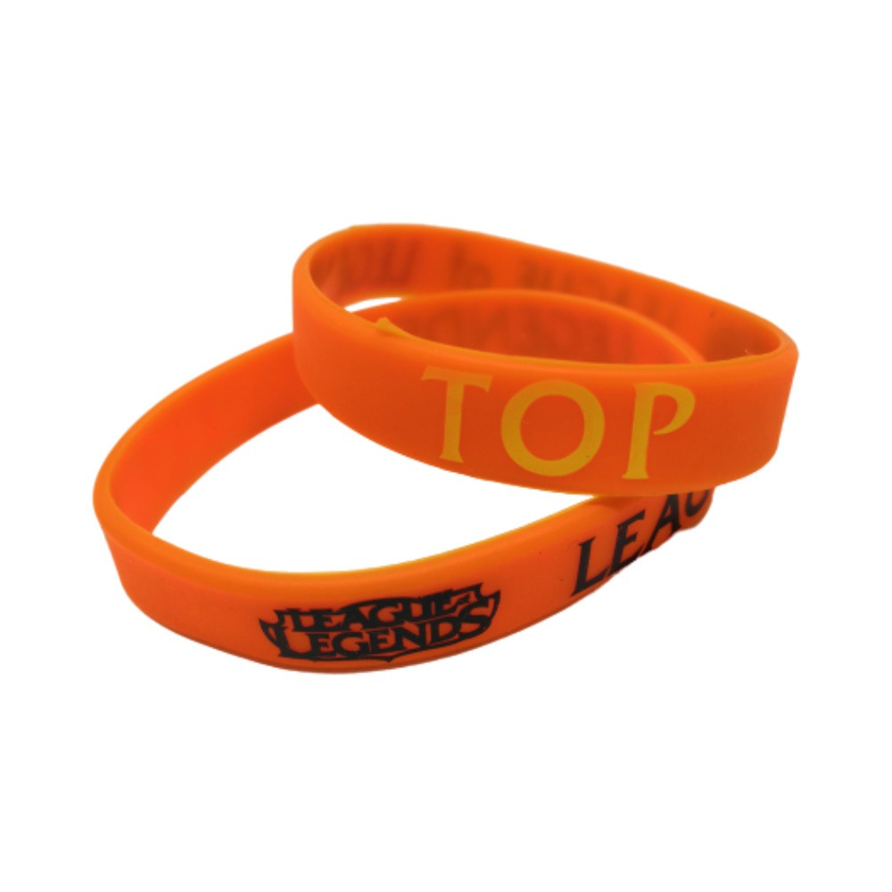 Pulseira TOP - League Of Legends LOL - Silicone