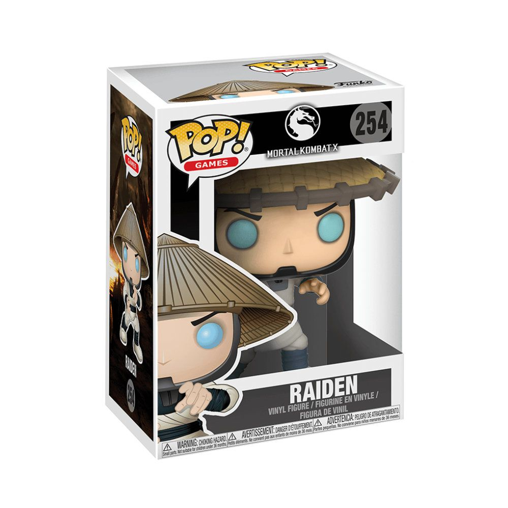 POP! Funko - Raiden 254 - Mortal Kombat X