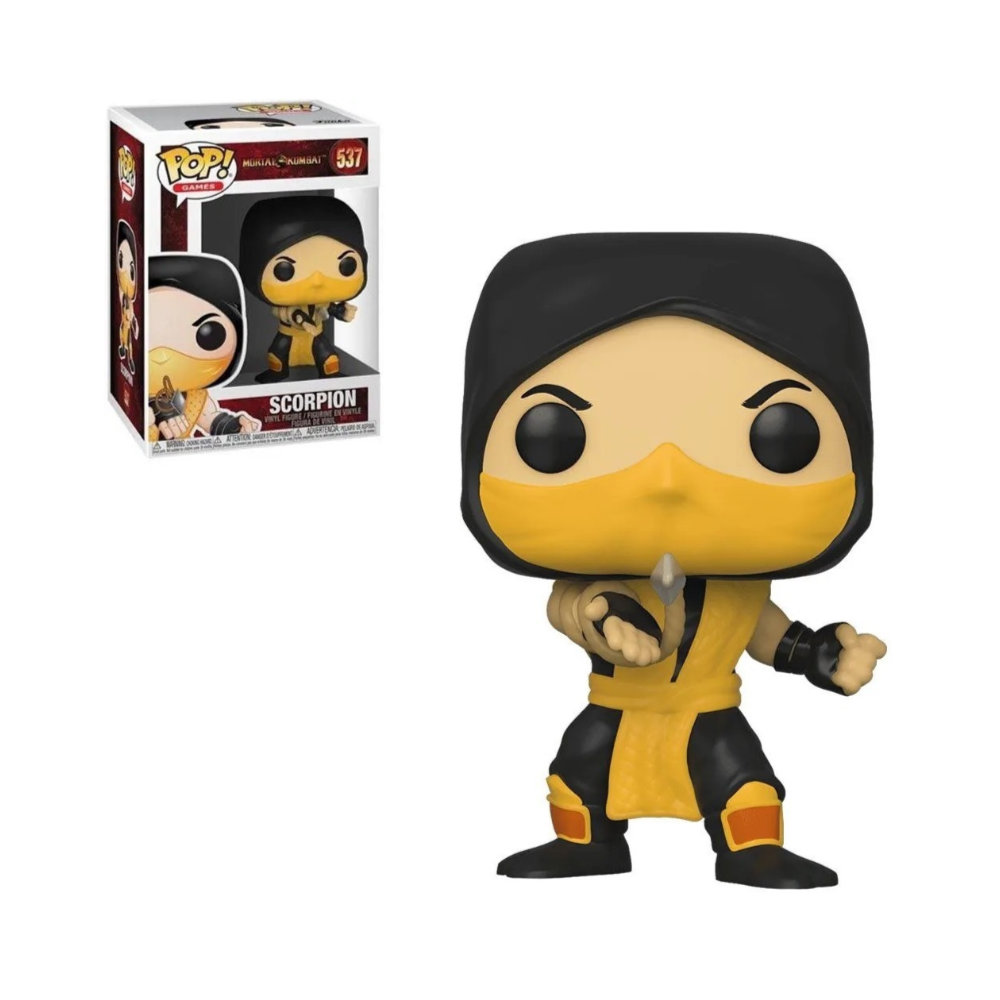 POP! Funko - Scorpion 537 - Mortal Kombat