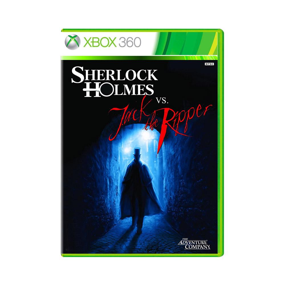 Jogo Sherlock Holmes Vs. Jack The Ripper - Xbox 360
