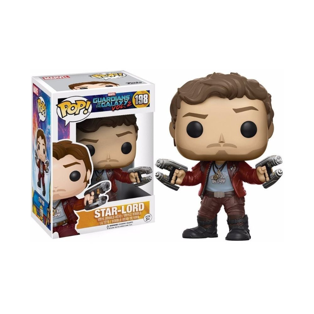 POP! Funko - Star Lord 198 - Guardians of the Galaxy Vol. 2