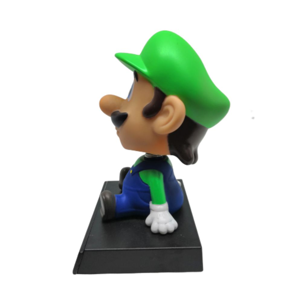 Figure Bobble Head Luigi - Super Mario - 12CM