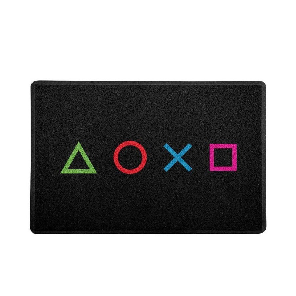 Tapete Capacho Botões PlayStation - 60x40
