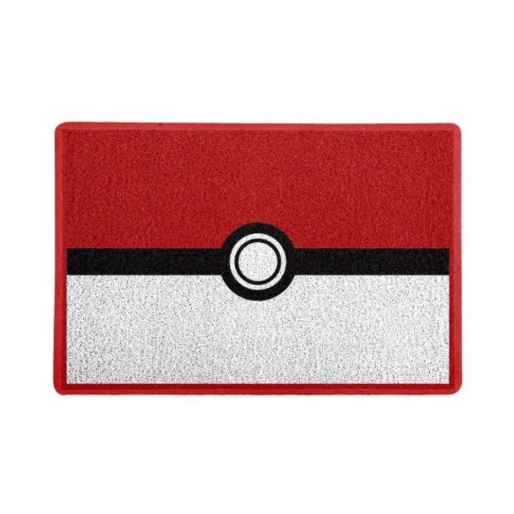 Tapete Capacho Pokebola - Pokémon - 60x40