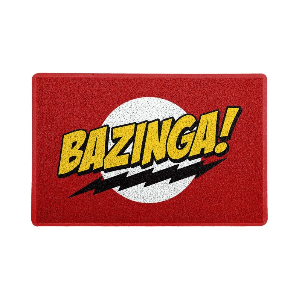 Tapete Capacho Bazinga - The Big Bang Theory - 60x40