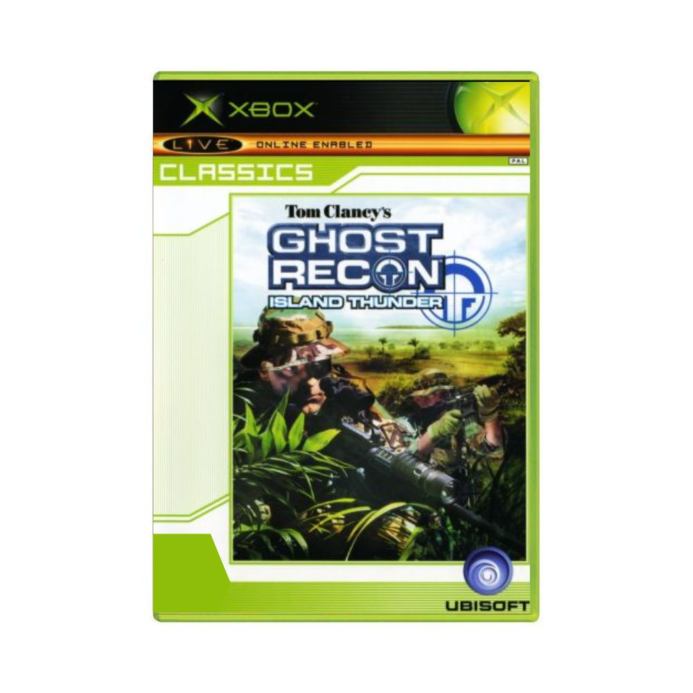 Jogo Tom Clancy's Ghost Recon Island Thunder - Xbox Classico