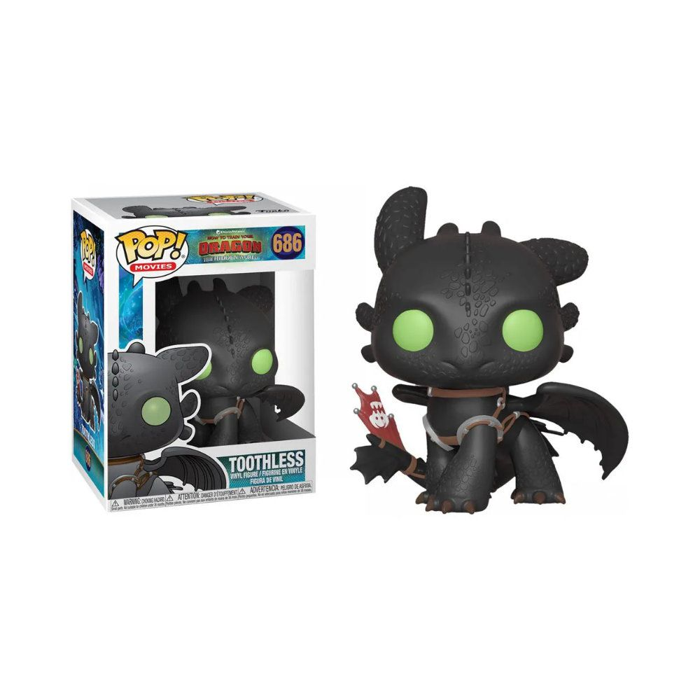 POP! Funko - Toothless 686 - How to Train Your Dragon