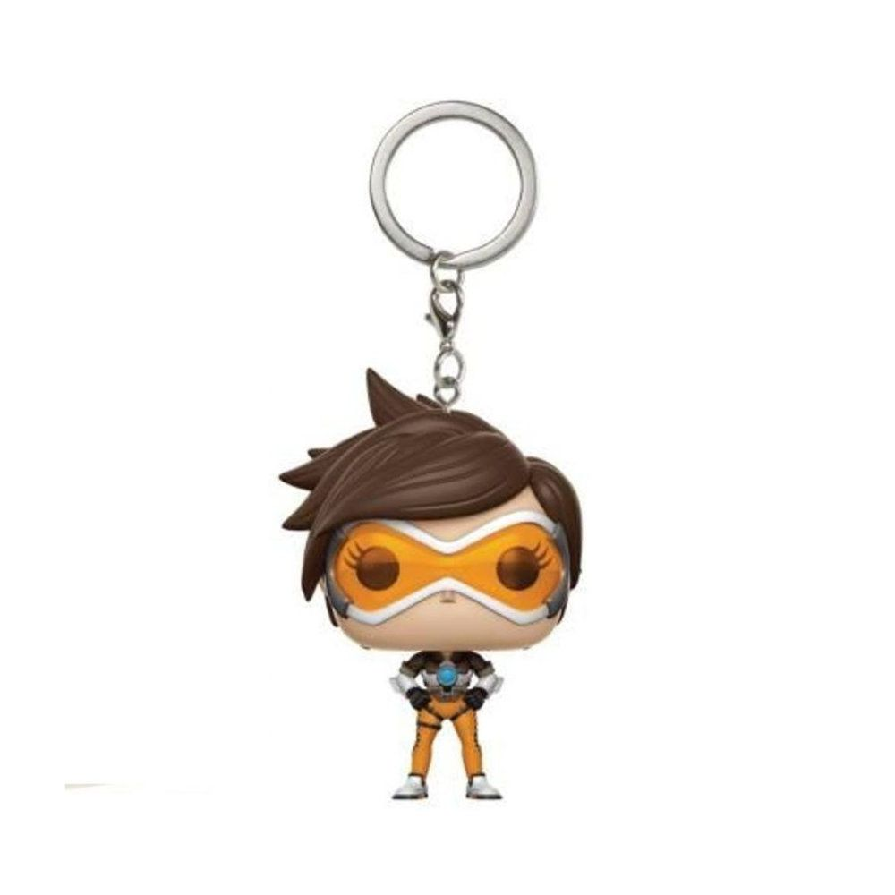 Tracer - Overwatch - Pocket POP! Chaveiro