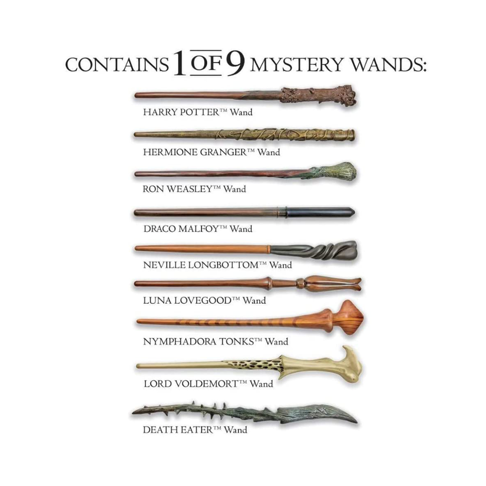Varinha Surpresa Harry Potter - Mystery Pack