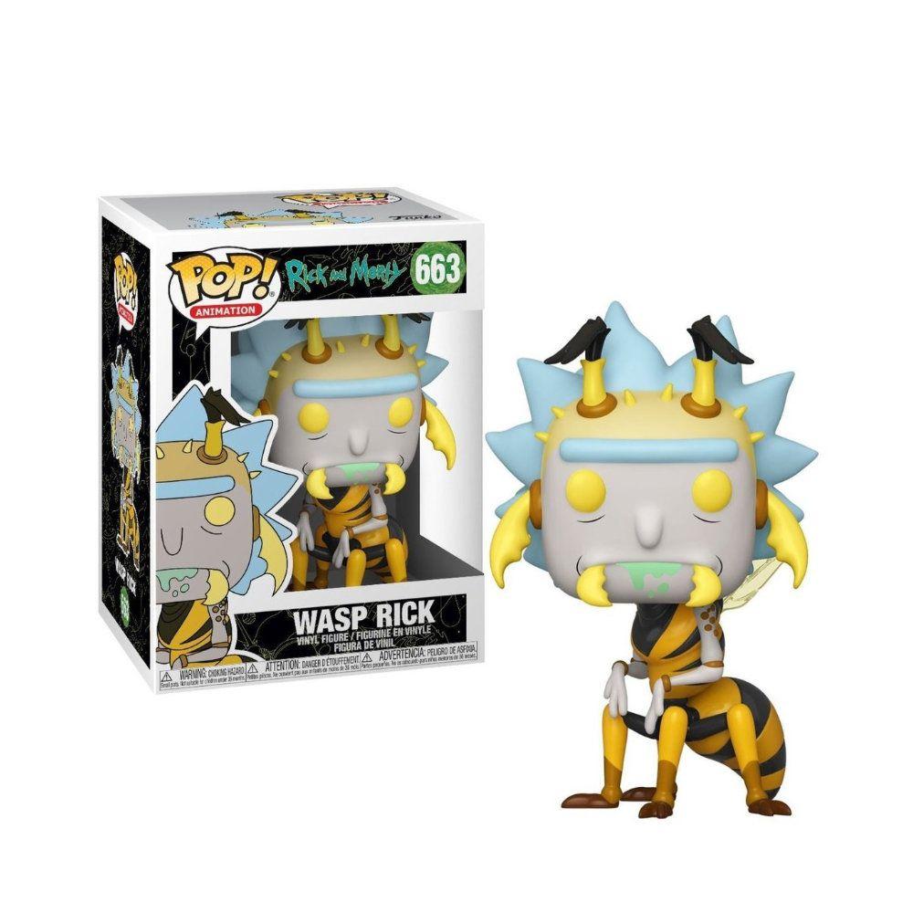 POP! Funko - Wasp Rick - Rick and Morty