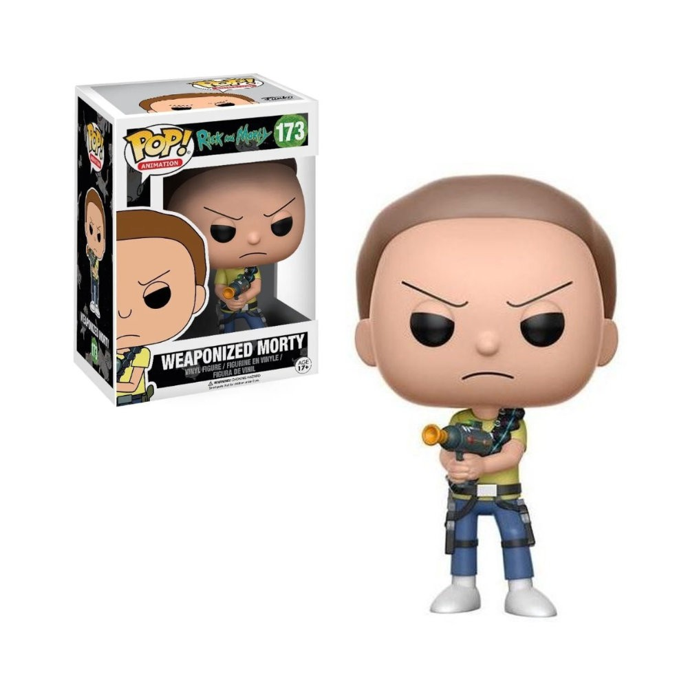 POP! Funko - Weaponized Morty - Rick and Morty
