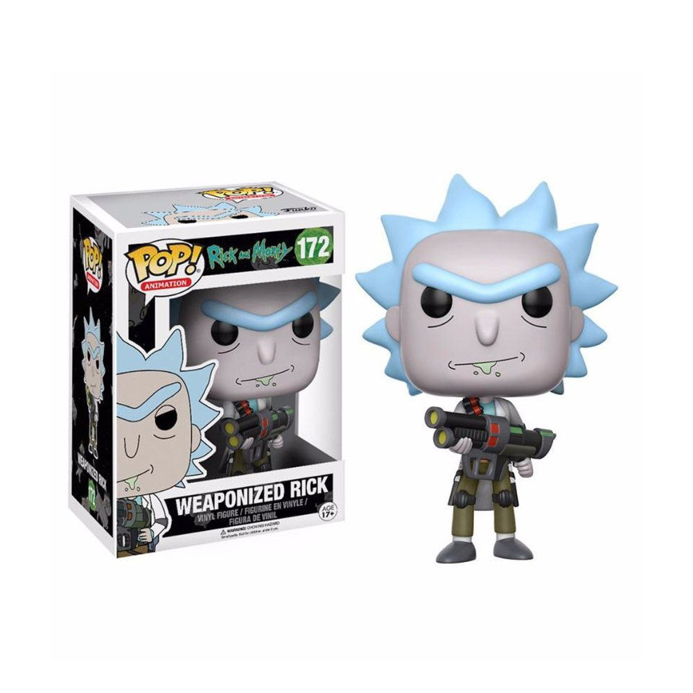 Weaponized Rick 172 - Rick and Morty - POP! Funko