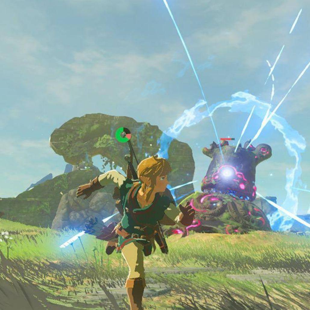 Zelda Breath of the Wild - Nintendo Switch