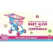 Carrinho de Compras - Baby Alive - Líder