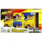 HASBRO - Lançador de Dardos Nerf N-Strike Attack Unit PISTOLAS