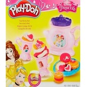 Massa de Modelar Play-Doh Disney Hora do Chá Princesas Hasbro B1861