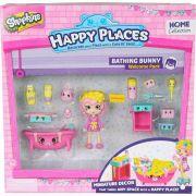 Shopkins Happy Places Kit Boas Vindas Banheiro Coelhinhos - 4481