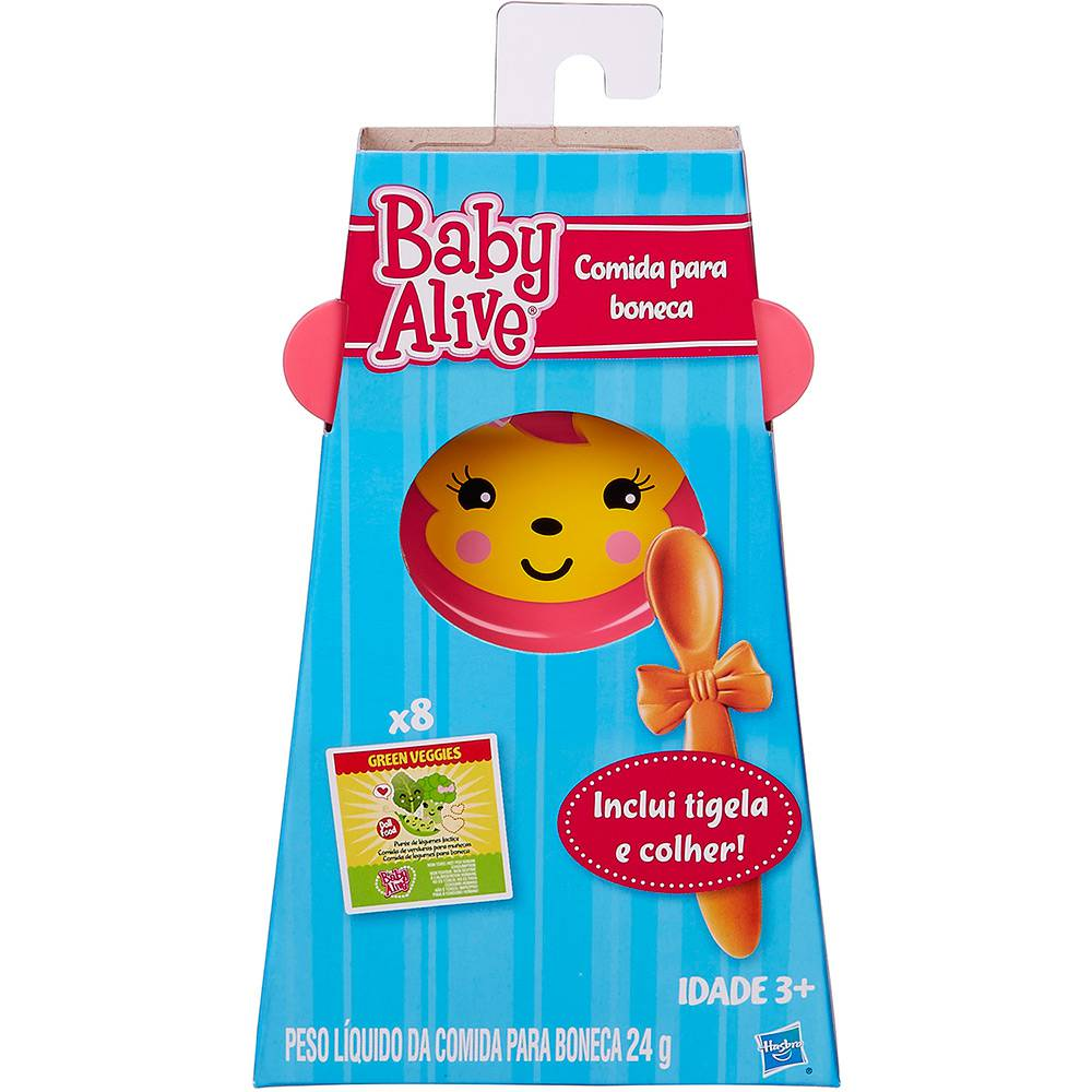 Acessórios Boneca Baby Alive Comida Hasbro