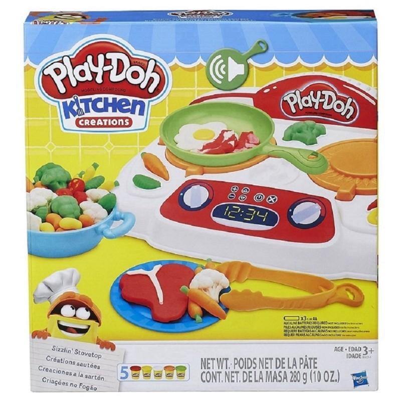 Massinha Play Doh - Criações No Fogão - Hasbro B9014