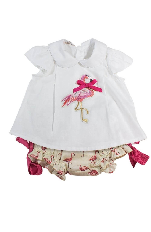 Bata Flamingo com Culote Roana Acessórios