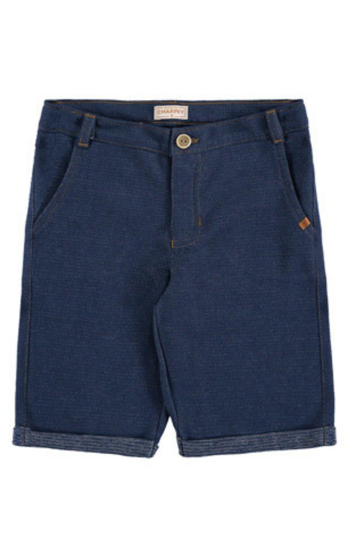 Bermuda Moletinho Jeans Charpey Infantil