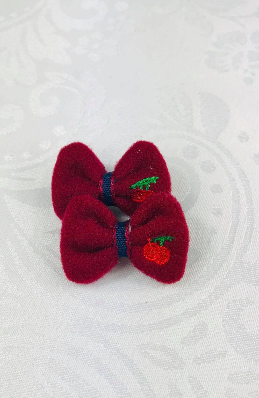 Bico de Pato Cereja Vermelho Infantil