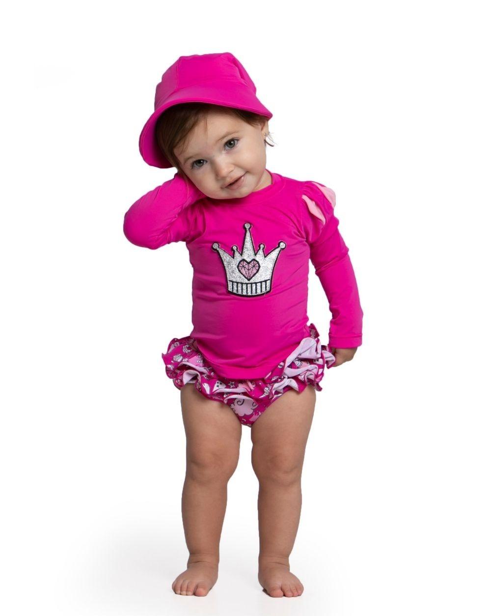Biquíni Encantada Baby Siri Kids Infantil