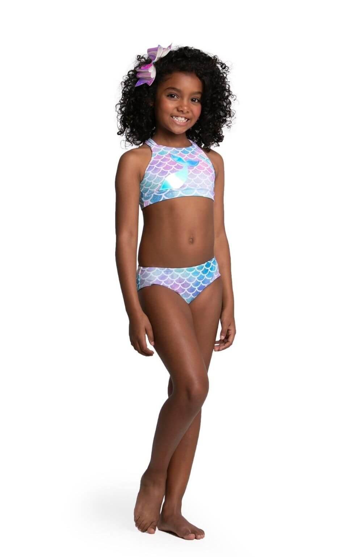 Biquíni Sereia Nadador Siri Kids