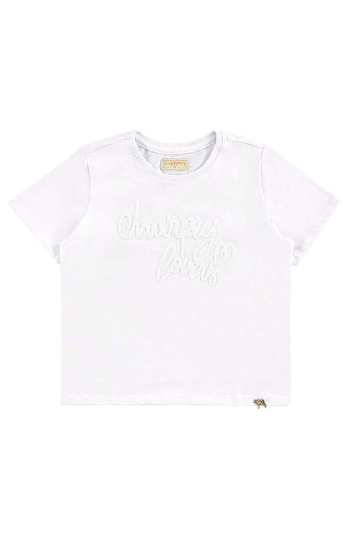 Blusa Charpey Branca Infantil