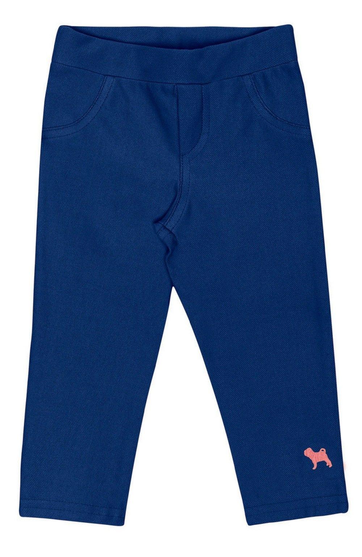 Calça Moleton Azul Charpey