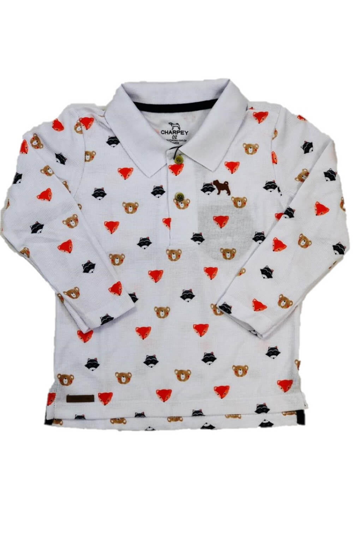 Camisa Polo Quadrile Charpey Infantil