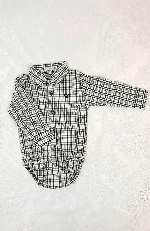 Camisa Social Preta Bilu Teteia