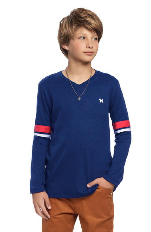 Camiseta Azul Charpey Infantil