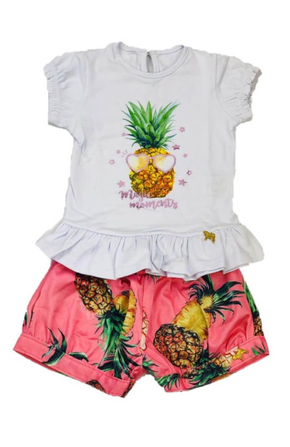 Conjunto Abacaxi Charpey