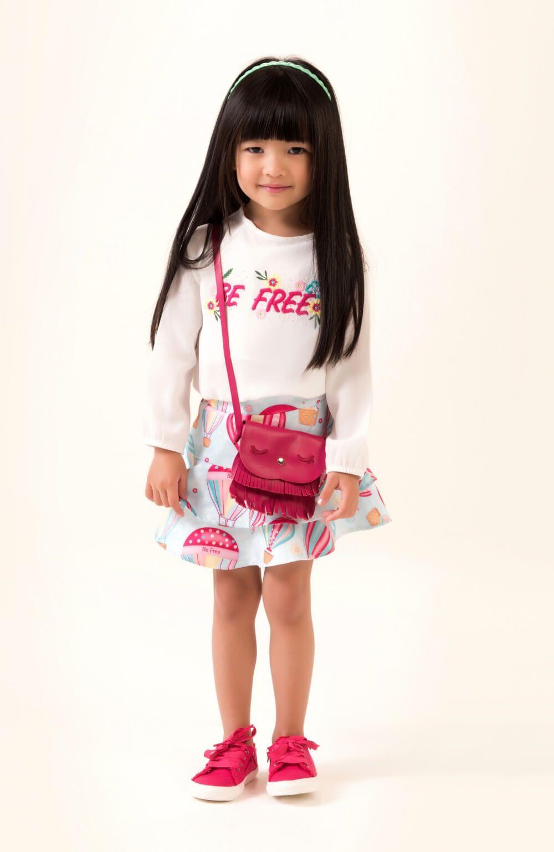 Conjunto Balão com Saia Mon Sucre Infantil