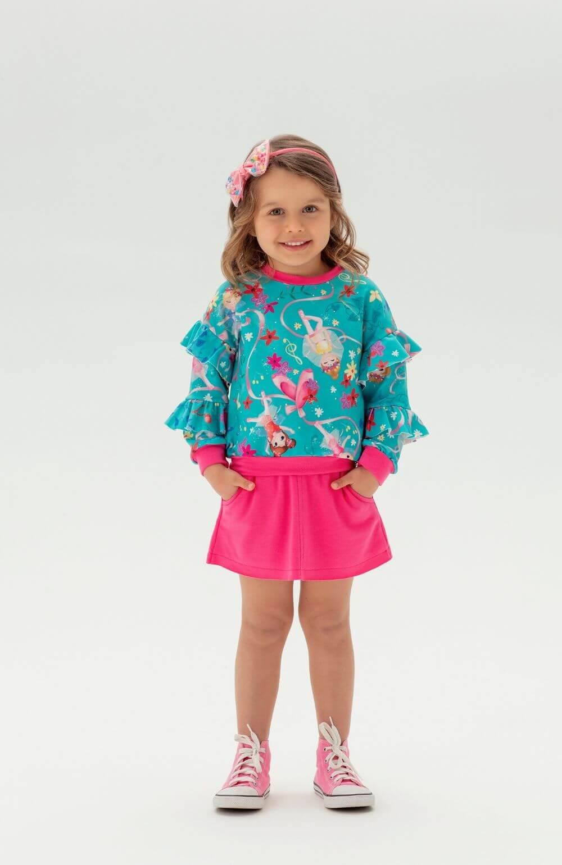 Conjunto Ballet Mon Sucre Infantil