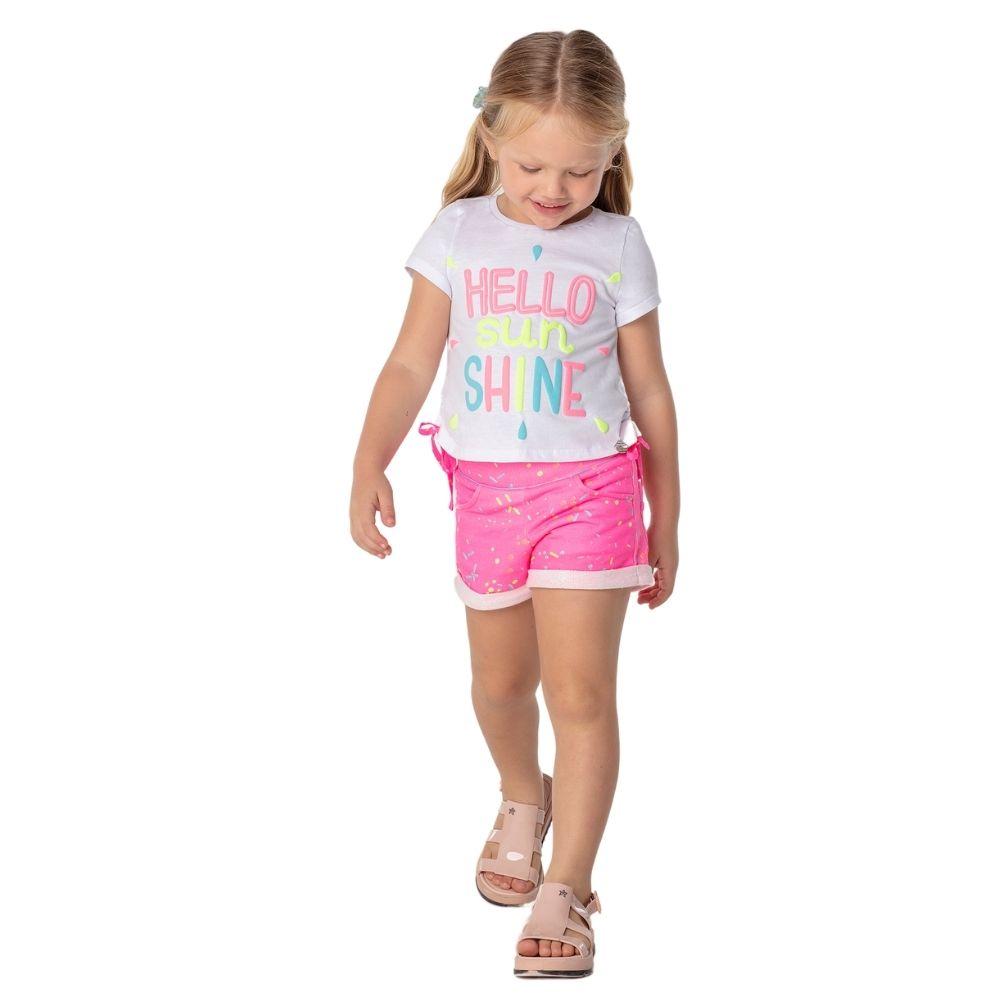 Conjunto Confete Summer Mon Sucre Infantil