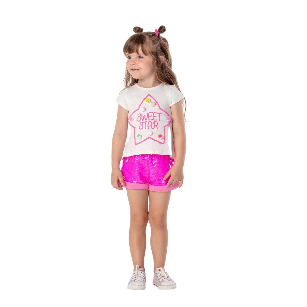 Conjunto Star Mon Sucre Menina Infantil