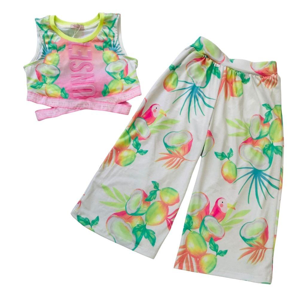 Conjunto Verão Sunshine Mon Sucre Infantil