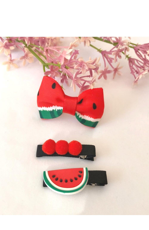 Hair Clip Frutas