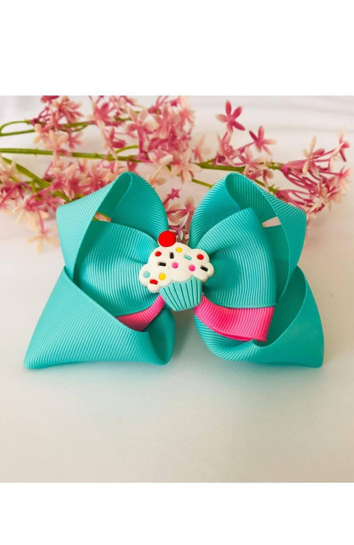 Laço Cupcake Verde