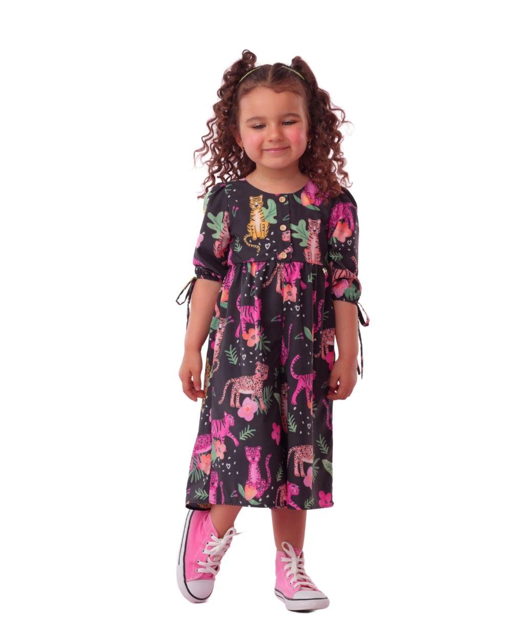 Macacão Pantera Pink Mon Sucre Infantil