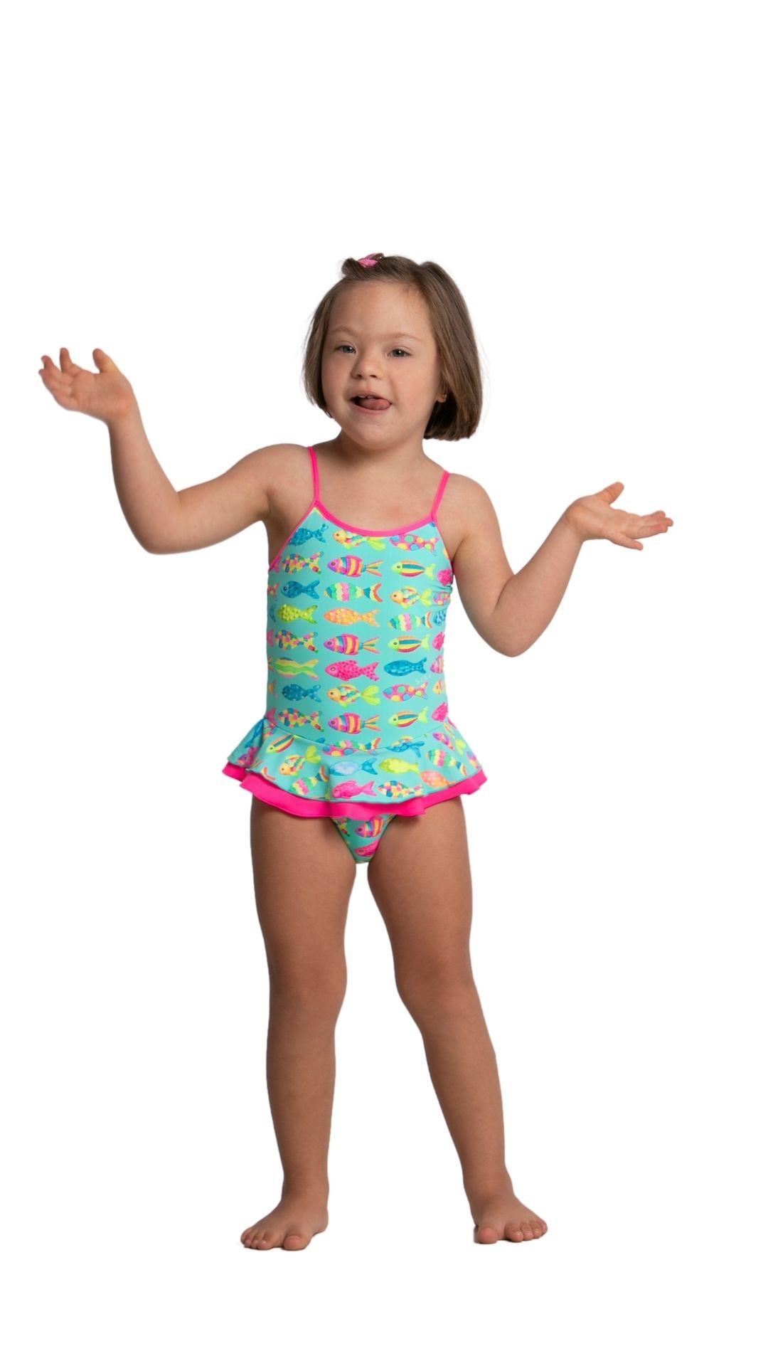 Maio Peixinhos Siri Kids Infantil