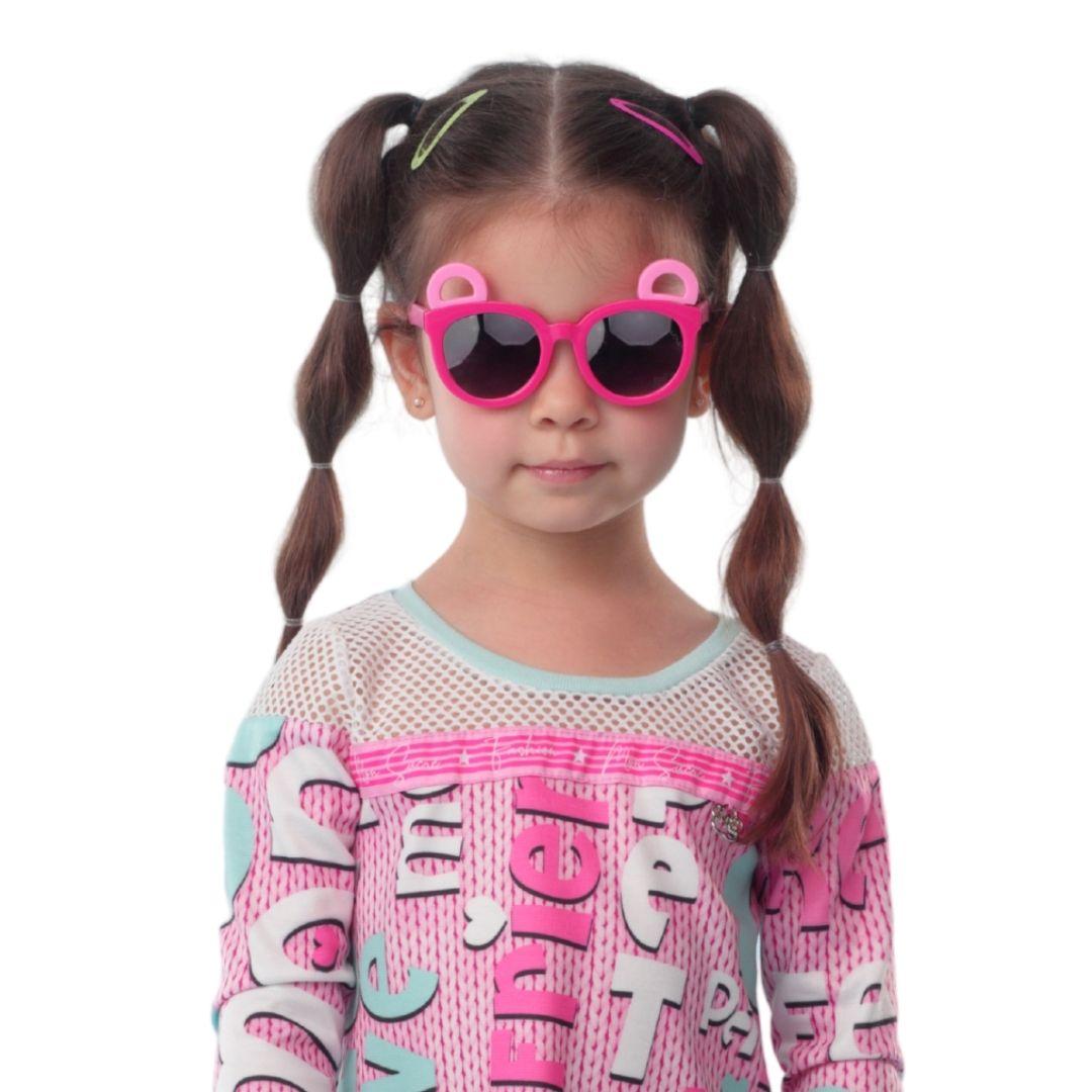 Óculos Panda Rosa Mon Sucre Infantil