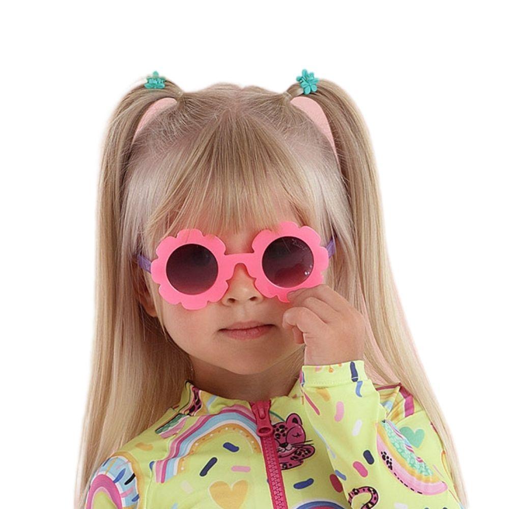 Óculos Verão Flor Rosa Mon Sucre Infantil